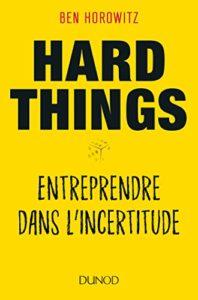 Hard things about hard things - Ben Horowitz